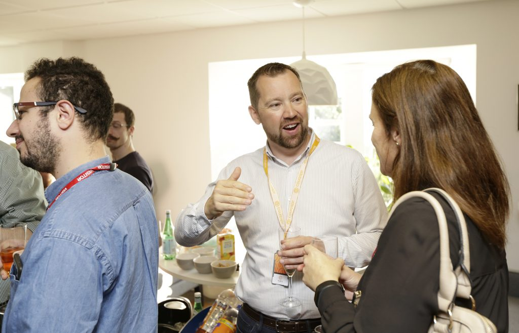 Photo from Condatis Launch party - Ian Waters, Head of Accounts