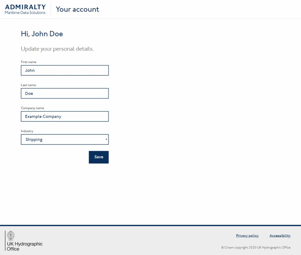 MGIA user profile